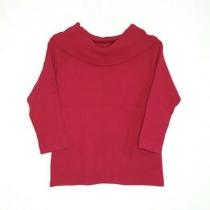 LOFT Size Medium Cowl Neck Sweater